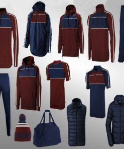 Blue and Mehroon Combination Full Team Wear AFYM-9002