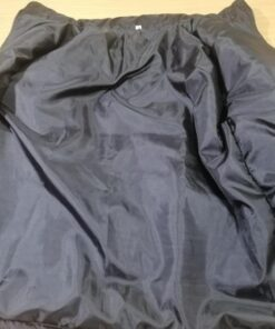 Black Winter Bubble Jacket-2