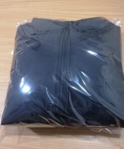 Black Winter Bubble Jacket-3