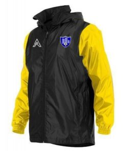 Centroo Black Rain Jacket with Yellow Arms AFYM-6009