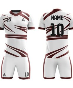Club Sublimation Soccer Kits with Front and Back Trimming AFYM-2007