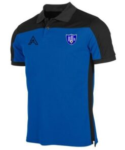 Custom Black and Blue Polo Shirt AFYM-4000