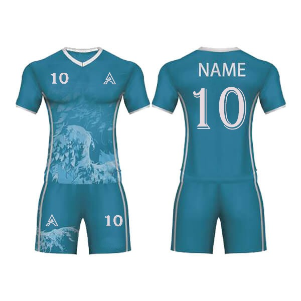 Sublimation Soccer Kits with Tree Leaves Art AFYM:2001