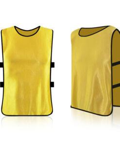 Yellow Mesh Soccer Bib AFYM-10003