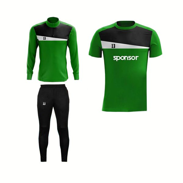 Green and Black,White Panels Training Pack