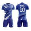 Blue Front Multi Trimming Sublimation Soccer Kits AFYM:2017