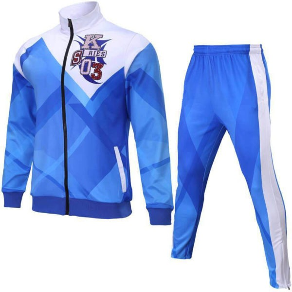 Multi-Color Shaded Sublimation Tracksuit AFYM:1013