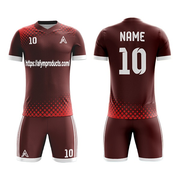 Sublimation Soccer Kits For Men and Youth AFYM:2018
