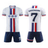 White with Two Shaded Sublimation Soccer Kits AFYM:2020