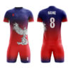 Sublimation Soccer Kits with Front Designing AFYM:2031