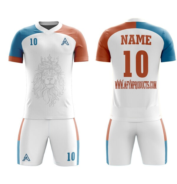 Sublimation Soccer Kits with Tiger Icon AFYM-2036
