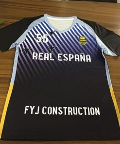 Black and White Sublimation Soccer Kits with Front Trimming AFYM:2055