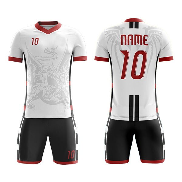 Custom Sublimation Soccer Kits with Visible Unique Art AFYM:2057