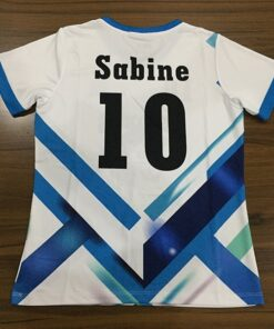 Blue Dark and Light Shaded Sublimation Soccer Kits AFYM 2056