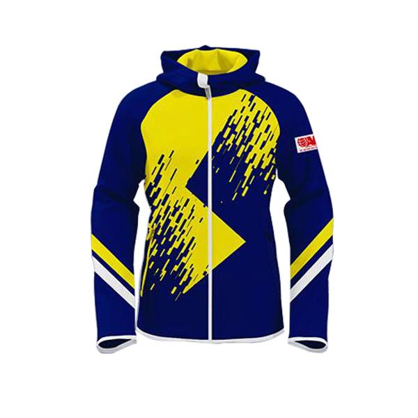 Blue with Yellow Art Club/Team Wear/League Sublimation Hoodie AFYM-5012