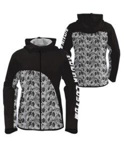 Black with Season Art Sublimation Hoodie AFYM-5019