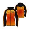Orange with Two Unique Color Sublimation Hoodie AFYM-5018