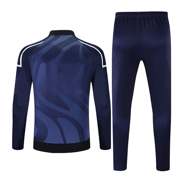Sublimation Tracksuits with Front Three Color Trimming AFYM:1029