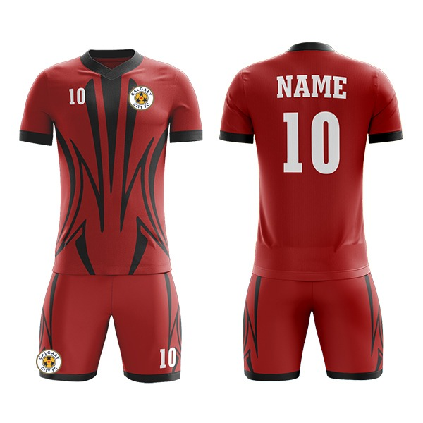 Custom Sublimation Soccer Kits in Different Shades AFYM:2066