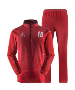 Custom Sublimation Tracksuit with Front Art AFYM:1050