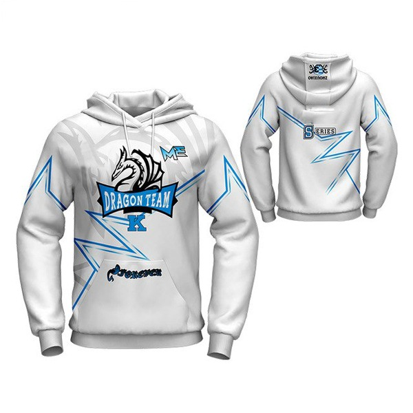 Sublimation Hoodie with Dragon Art AFYM-5032
