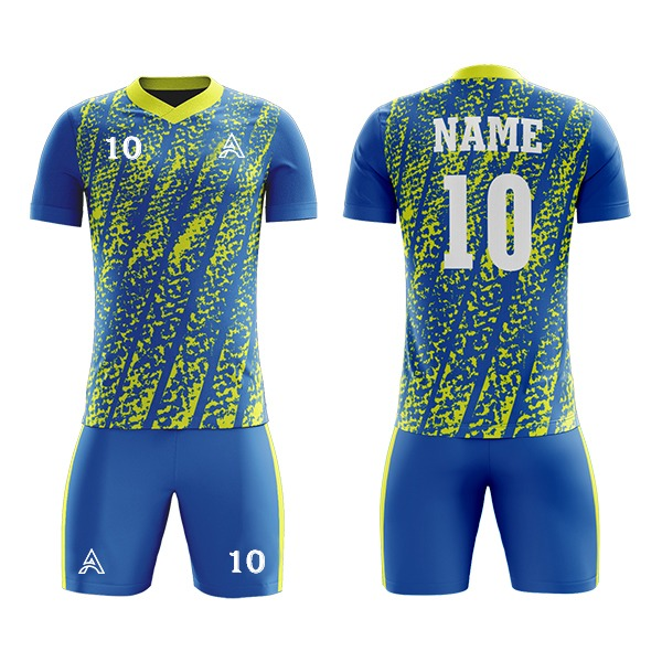 Sublimation Soccer Kit Design For League AFYM:2077