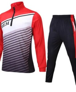 Sublimation Tracksuit with Front and Back Trimming AFYM:1049