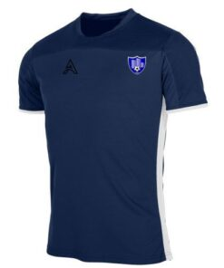 Custom Dark and Light Blue Paneling T-Shirt AFYM:3015