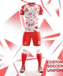 Custom Mirror Shades Sublimation Soccer Uniforms AFYM:2084