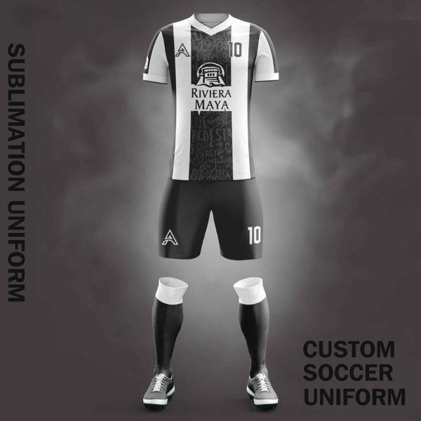 Custom Sublimation Soccer Kits For Club Players AFYM:2082