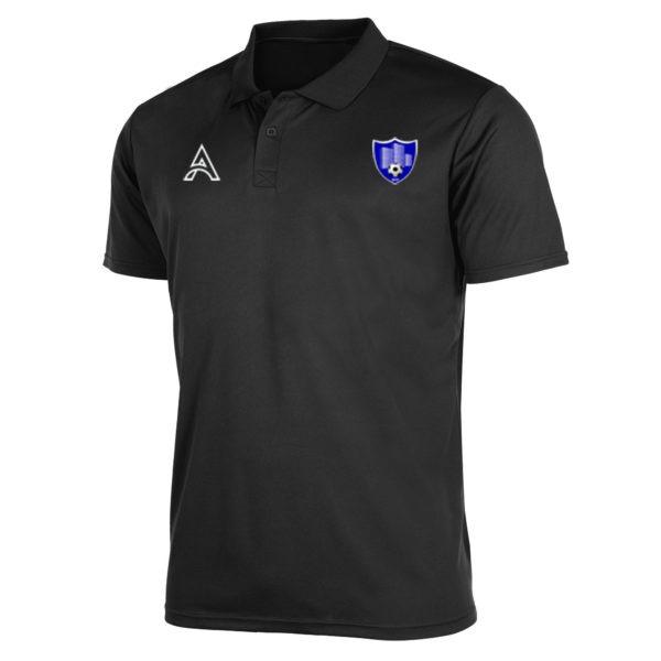Plain Black Polo Shirt AFYM-4011