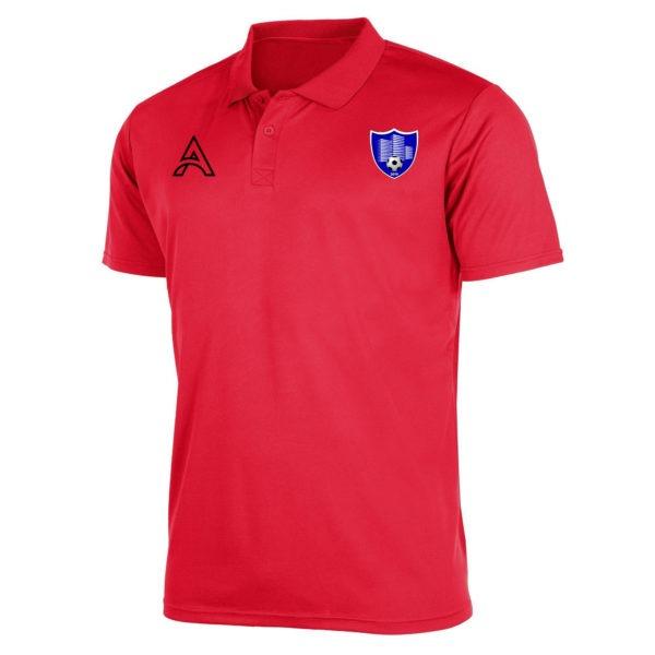 Plain Red Polo Shirt AFYM-4010