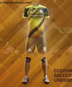 Customize Sublimation Soccer Kits AFYM:2098