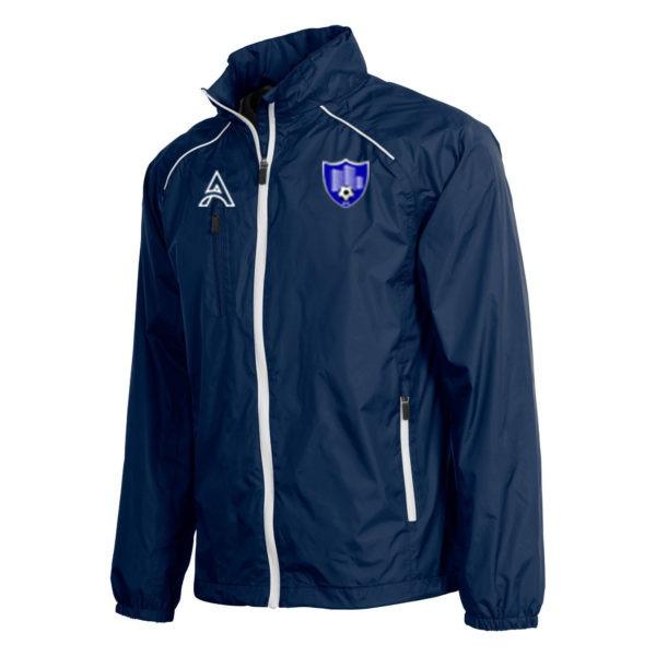 Techno Dark Blue Rain Jacket with Shoulder Lining AFYM-6016