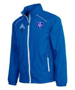 Techno Light Blue Rain Jacket with Shoulder Lining AFYM-6018