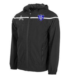 Varssity Black Rain Jacket with Center Lining AFYM-6014