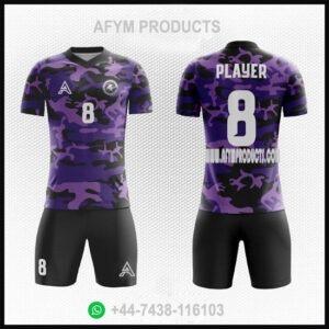 Camo Customize Sublimation Soccer Kits AFYM:2099